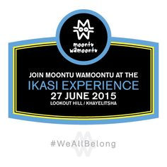 Make a Wise Move and join the #MWM team on Saturday the 27th of June at the Lookout Hill in Khayelitsha, Cape Town.