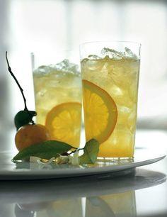 Orange Blossom Gin Fizz  |  The Blender