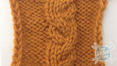 Garden Path cable - love the name and the look of this stitch