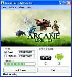 Try Arcane Legends Hack Tool download 2016 update version. Hack Arcane Legends Hack Tool with cheat. Hack Arcane Legends Hack Tool on smartphone directly. New cheats available in this moment.