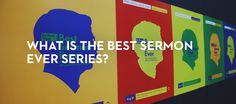 This summer, Pastor Mark Driscoll has invited a few friends to preach a new series called Best Sermon Ever. Mark Driscoll, Mars Hill, Church Sermon, Sermon Series, Ever And Ever, New Series, Good Things, Invitations, In This Moment