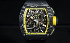 Richard Mille RM 011 Flyback Chronograph Yellow Storm Live Pictures