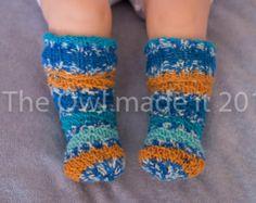 Baby socks that stay on knit socks wool socks kids autumn kids fall boy girl kids socks baby knee high socks  UK seller kingfisher