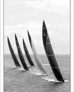 """Gilles Martin-Raget """"J Class, the black & white collection"""