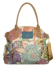 Loving this Blue & Green Pastel Tote on #zulily! #zulilyfinds