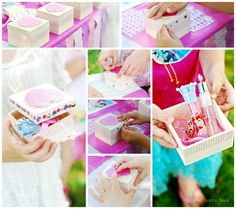 Princess Party Favor Box Craft Idea