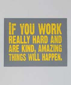 Yes. Love this. Want to look at it every single day in my studio.