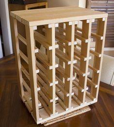 The Best Adirondack Chair Woodworking Plans for the Best Result Woodworking Furniture, Diy Furniture, Woodworking Projects, Woodworking Plans, Wine Rack Storage, Wine Rack Cabinet, Wine Rack Design, Wine Rack Plans, Home Wine Cellars