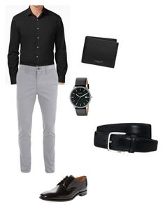 """""""Untitled #142"""" by agicenhour ❤ liked on Polyvore featuring Alfani, Loake, Michael Kors, Skagen, Tod's, men's fashion and menswear"""