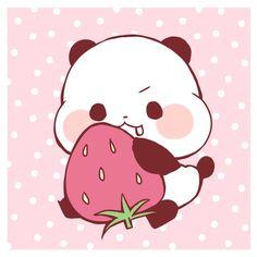 Panda Funny, Cartoon Panda, Little Panda, Panda Love, Panda Wallpapers, Cute Wallpapers, Kawaii Drawings, Easy Drawings, Panda Art