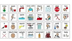 Summer Fun Activity Communication Boards