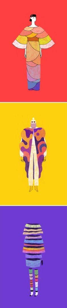 A little fashion show on the blog today: illustrations by Dadu Shin http://www.artisticmoods.com/dadu-shin/