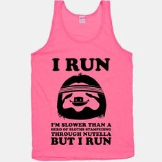 I Run Slower Than A Herd Of Sloths | HUMAN. teejay!