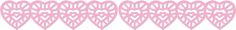 $7.99 reg price, but on sale for 4.50 (Sept '15). Hearts Jumbo Stencil-Cut Borders