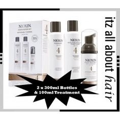 nioxin system 3 starter kit - Compare Price Before You Buy Nioxin System 4, Coloured Hair, Starter Kit, Bottle, Colorful Hair, Dyed Hair, Flask, Hair Color, Colored Hair
