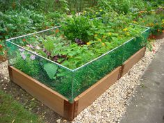 Frame It All - Two Inch Series - Composed Composite Raised Garden Bed Systems