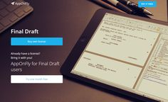 Final Draft is now available in cloud at: www.apponfly.com/en/final-draft?EZE Try It Free, Finals, Flexibility, Remote, Desktop, Bring It On, Clouds, Back Walkover, Final Exams
