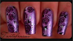 Make roses on nails