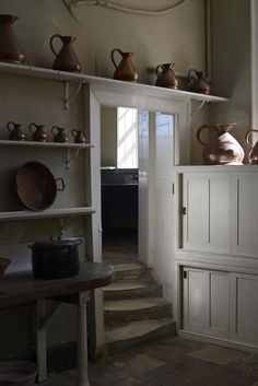 FARMHOUSE – INTERIOR – the farmhouse mudroom is always the busiest room next to the kitchen.