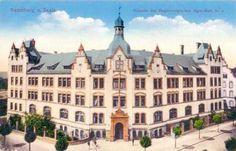 Kaserne des Magdeburgischen Jäger-Batt. Nr. 4, 1916