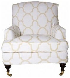 Baker Tufted Lounge Chair