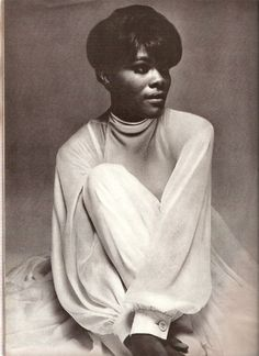 Dionne Warwick photographed by Bert Stern, 1968.