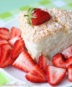 Baunilha e Caramelo: Angel Food Cake