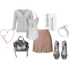Sweet love, created by roxannepatton on Polyvore
