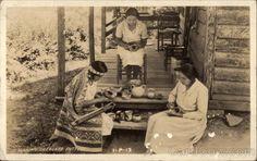 Making Cherokee pottery Native Americana