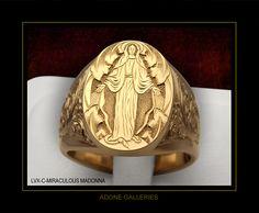 Adone signet rings