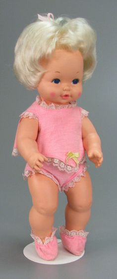 111.3846: Baby Tenderlove | baby doll | Baby Dolls | Dolls | National Museum of Play Online Collections | The Strong