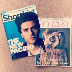 How to make your day instantly better - lesson 34: pick up @stylistmagazine and @shortlistmagazine