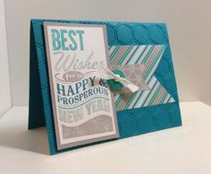 Stampin' Fun with Diana: Happy New Years Greeting: Best New Year, Best New Year, New Years, Card, Big Shot, Stampin' Up, Diana Eichfeld