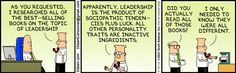 Leadership cartoon