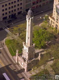 Old Chicago Water Tower, 806 North Michigan Avenue, Chicago, Illinois