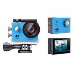 EKEN H9 WiFi Sport Action Camera DV Car DVR SPCA6350 4K 25fps 1080p 60fps 720P 120fps New Version