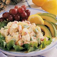 Avocado Malibu Salad Recipe -One of the first things I learned when I moved here from Oregon was to make light salads like this. They're practical, easy and delicious.
