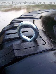 DIY Recycled Tire Swing - bystephanielynn