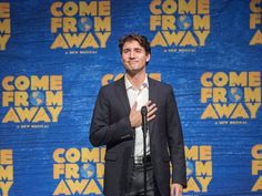 Audience members at Broadway show Come From Away were thrilled to see Canadian PM Justin Trudeau give an introductory speech - but none more so, perhaps, than Ivanka Trump. Justin Trudeau, Ivanka Trump, Come From Away, Newfoundland And Labrador, First Lady Melania, Trend News, Musicals, Broadway Shows, It Cast