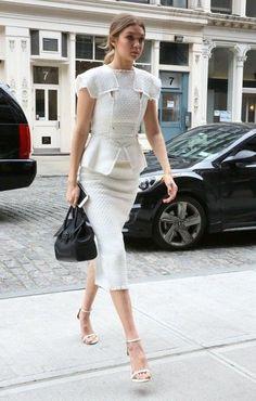 Gigi Hadid's NYC style.