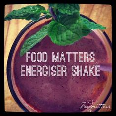 What Is Your Favourite Shake?   We love Food Matters Protein blend, berries, banana, kale, almonds  bee pollen made on fresh coconut water!