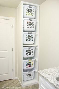 Laundry Sorter | Genius Laundry Storage Ideas You Can DIY