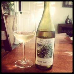 Texas wine. Becker Vineyards!