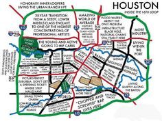 Houston: Neighborhood Culture Map – Urbane Map Store Resident Name: AventuraEvent Name: Aventura: InmortalDate: Location: Houston, TXEvent Venue: Toyota Center - TX Houston Map, Houston Living, Houston Heights, Houston Locations, Houston Neighborhoods, Map Store, Loving Texas, Texas Pride, H Town