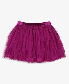 Tiered Tulle Skirt | FOREVER21 girls - 2017306734