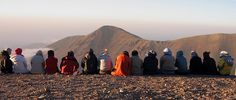 Sunset beside the Sabalan Shelter