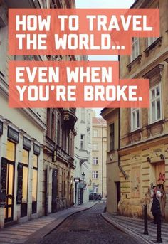 How to travel the world even when you're broke / A Globe Well Travelled (scheduled via http://www.tailwindapp.com?utm_source=pinterest&utm_medium=twpin&utm_content=post117193283&utm_campaign=scheduler_attribution)