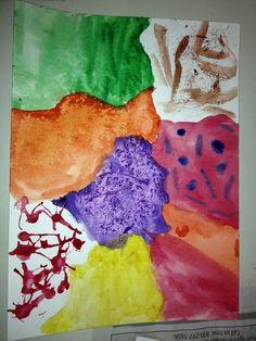 1st Watercolor piece  4/16/15