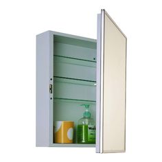 Ketcham 16W x 22H in. Accessible Surface Mount Medicine Cabinet - 172-HCSM