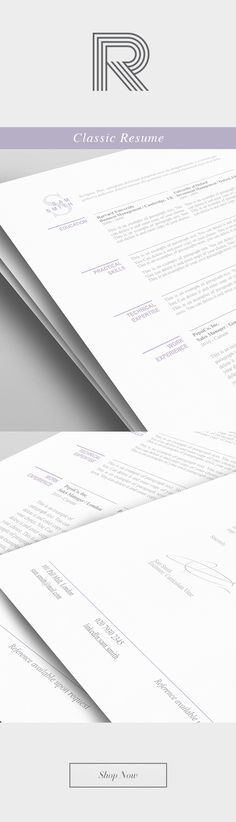 Elegant Resume Template 110460 - Premium line of Resume \ Cover - elegant resume templates